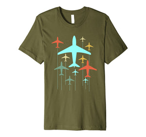 Cute Vintage Airplanes | Fly Airplane Pilot T-Shirt