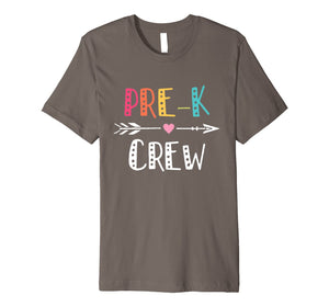 Pre-K Crew For Pre-K Teacher T Shirt Back To School