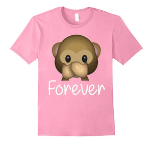 Best Friends Forever T-Shirt For 3 Monkey Emoji #3