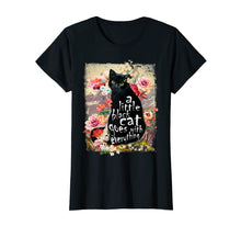 Load image into Gallery viewer, A little black Cat Tshirt