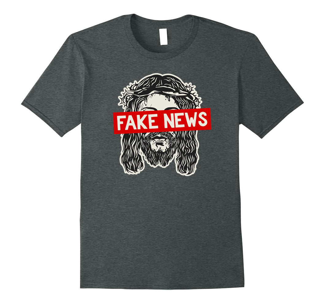 Atheist, Anti Religion T-Shirt: Religion is Fake News Shirt