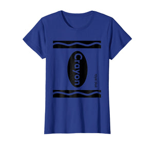 Blue Crayon Shirt Halloween Group Costume T-Shirt