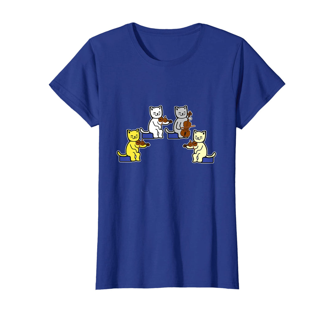 Cats Playing Violin Shirt Gift Musical Instrument Pet