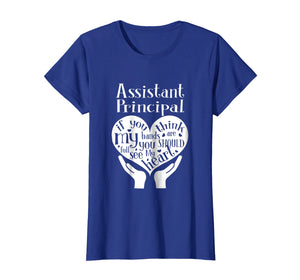 Assistant Principal Heart Hands Back To School T-Shirt
