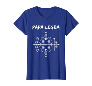 Papa Legba Gate Keeper Lwa Veve Voodoo Magic T-shirt