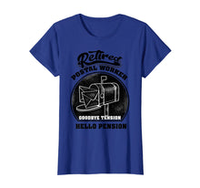 Load image into Gallery viewer, Retired Postal Worker Shirt | Cute Mail Carrier T-shirt Gift