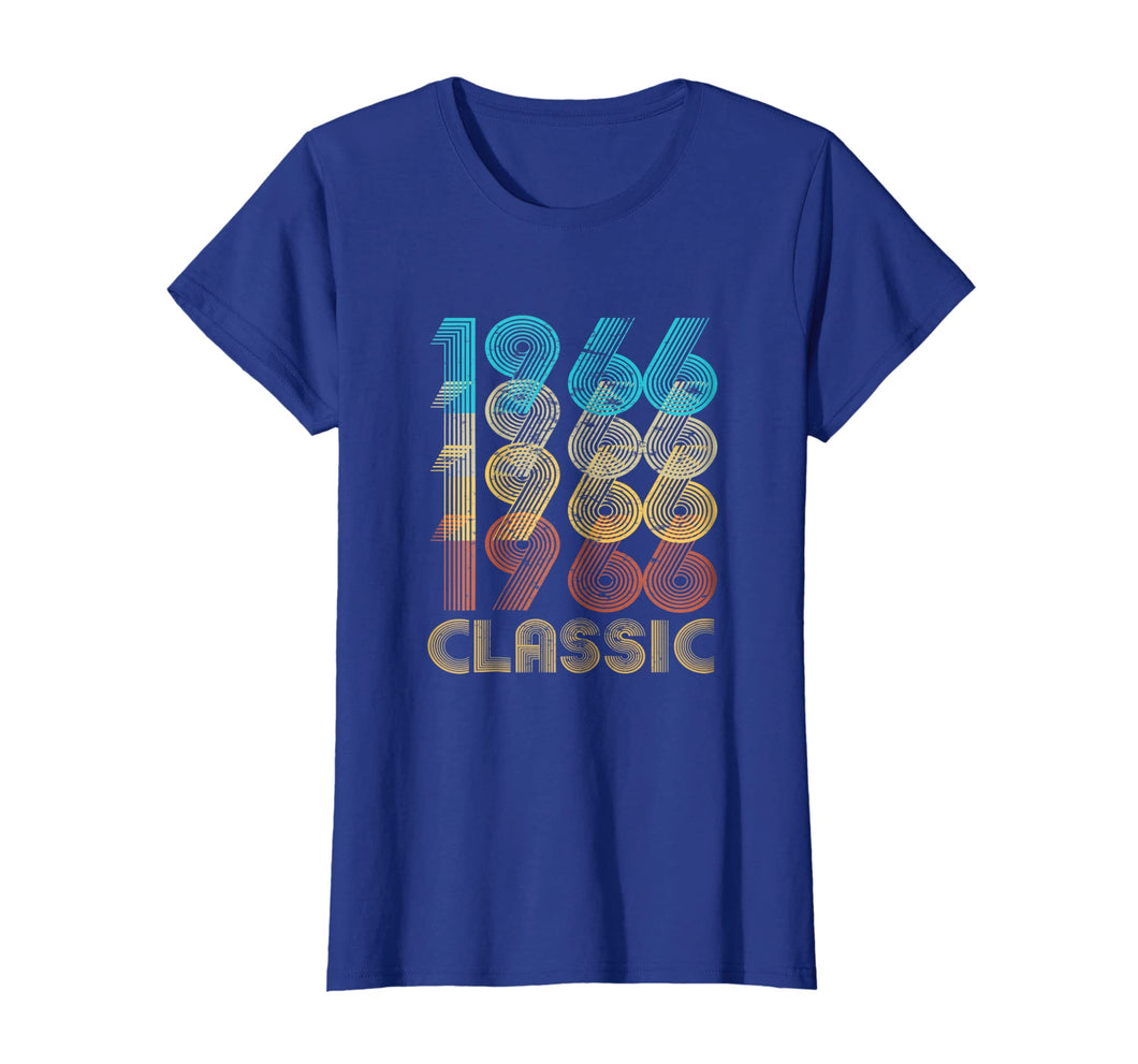 53rd Birthday Gift Vintage 1966 T Shirt Classic Men Women