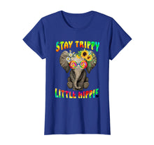Load image into Gallery viewer, Hippie Life Elephant Hippie Stay Trippy Little Hippie Shirt