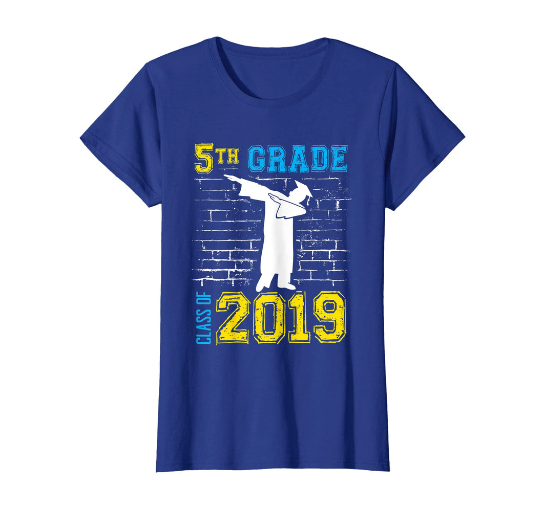 Dabbing 5th Grade Graduation Gift 2019 - Funny T-Shirt