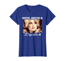Load image into Gallery viewer, Funny Gift Dolly Retro Parton Guts Grits Lipsticks T-Shirts