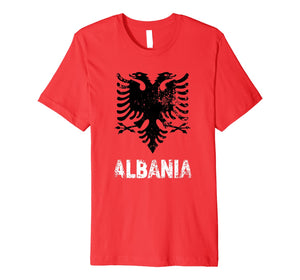 Albania Shirt Independence Day Gift Albanian Eagle Premium T-Shirt