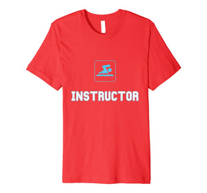swim instructor t shirt swimming instructor t-shirt gift
