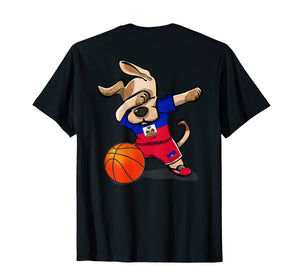 Dog Dabbing Haiti Basketball Jersey Haitian Sport Team Shirt