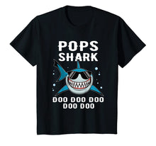 Load image into Gallery viewer, Pops Shark Tshirt Doo Doo Funny Baby Mommy Kids Tee