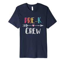 Load image into Gallery viewer, Pre-K Crew For Pre-K Teacher T Shirt Back To School