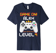 Load image into Gallery viewer, 9th Birthday T-Shirt Game on Video Gamer Gift