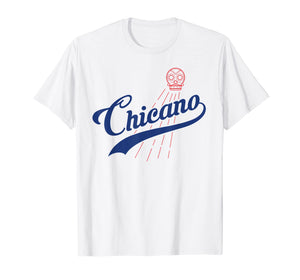 Cool Los Angeles Chicano t-shirt for L.A. Baseball Fans