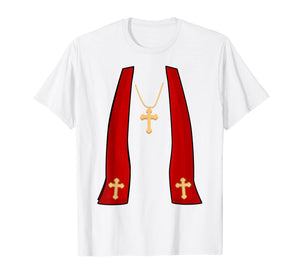 Pope Costume Shirt - Halloween Costume Minister Priest