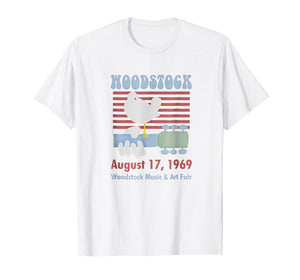 Woodstock - Stripes and Freedom T-Shirt