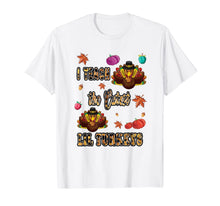 Load image into Gallery viewer, Cutest Turkeys Holiday Leopard Print Teacher Thanksgiving T-Shirt
