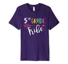 Load image into Gallery viewer, Fifth Grade Teacher Tribe Cute Gift Shirt Back To School