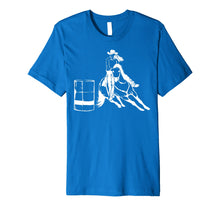 Load image into Gallery viewer, Barrel Racing Rodeo Shirt | Cute Horse Lovers T-shirt Gift