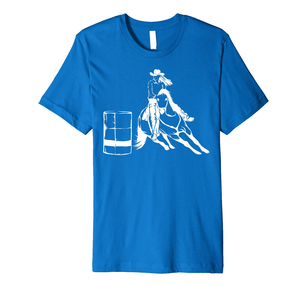 Barrel Racing Rodeo Shirt | Cute Horse Lovers T-shirt Gift