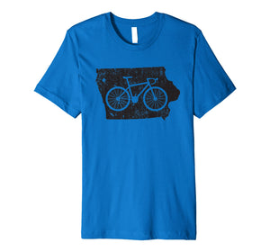 Cute Unique Vintage Iowa Cycling Gift T-Shirt G999909