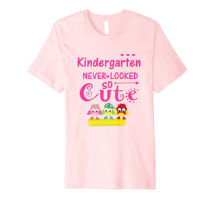 Back To School Shirt Kindergarten Looked Cute T-Shirt
