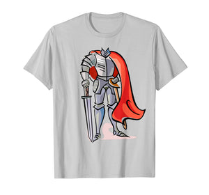 Kid Boy Knight who would be King Medieval Costume Shirt