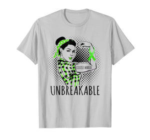 SCOLIOSIS WARRIOR IS UNBREAKABLE T SHIRT