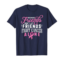 Load image into Gallery viewer, Breast Cancer Survivor Shirt Support Pink Ribbon Friends Fit T-Shirt