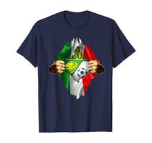 Load image into Gallery viewer, Club Leon Heartbeat Inside Love Mexico Fan Club Leon Fc T-Shirt