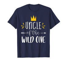Load image into Gallery viewer, Matching Shirt Cute 1st Birthday Uncle Of The Wild One Tee