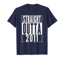 Load image into Gallery viewer, STRAIGHT OUTTA 2011 8th Birthday 8 years old T-Shirt