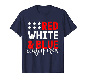 Cousin Crew 4th of July Shirt Kids Family Vacation Group