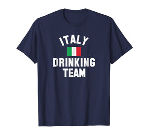 Italy drinking team shirt for Italy beer festivals