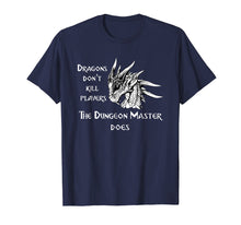 Load image into Gallery viewer, RPG Dungeon Game Master Medieval Dragon T-Shirt