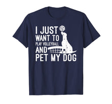 Load image into Gallery viewer, Dog Volleyball Shirt Volleyball Gifts For Players