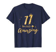 Load image into Gallery viewer, 11th Birthday Shirt for Girl, 11 and Amazing Gifts T-Shirt