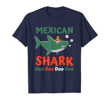 Load image into Gallery viewer, Cinco De Mayo Shirt Kids Toddler Women Men Mexican Shark T-Shirt