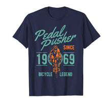 Load image into Gallery viewer, 50th Birthday Gift Vintage 1969 T-Shirt Biking Cyclist Biker