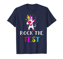 Load image into Gallery viewer, Awesome Rock The Test Gift Tshirt Student teacher