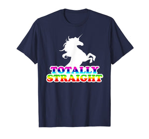 AW Fashions Totally Straight - Gay Pride Premium T-shirt