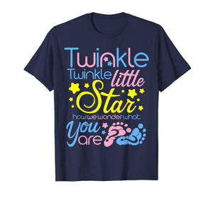 Twinkle Little Star How We Wonder What You Are  T Shirt