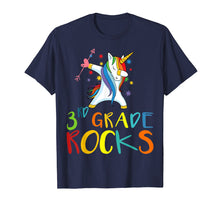 Load image into Gallery viewer, 3 rd Grade Rocks Shirt Funny third Graders & Teachers