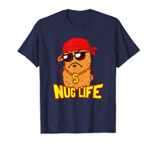 Load image into Gallery viewer, Nug Life T-Shirt | Funny Chicken Nuggets Tee