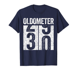 Oldometer 30 T-Shirt 30th Birthday Gift Shirt