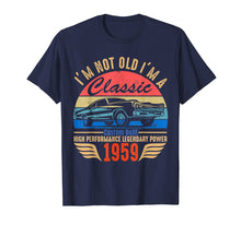Load image into Gallery viewer, Classic 1959 T-shirt for Men Women 60th Birthday Gift Ideas