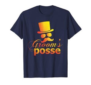Groom's Posse Wedding Bachelor Party TShirt Groomsmen Tee